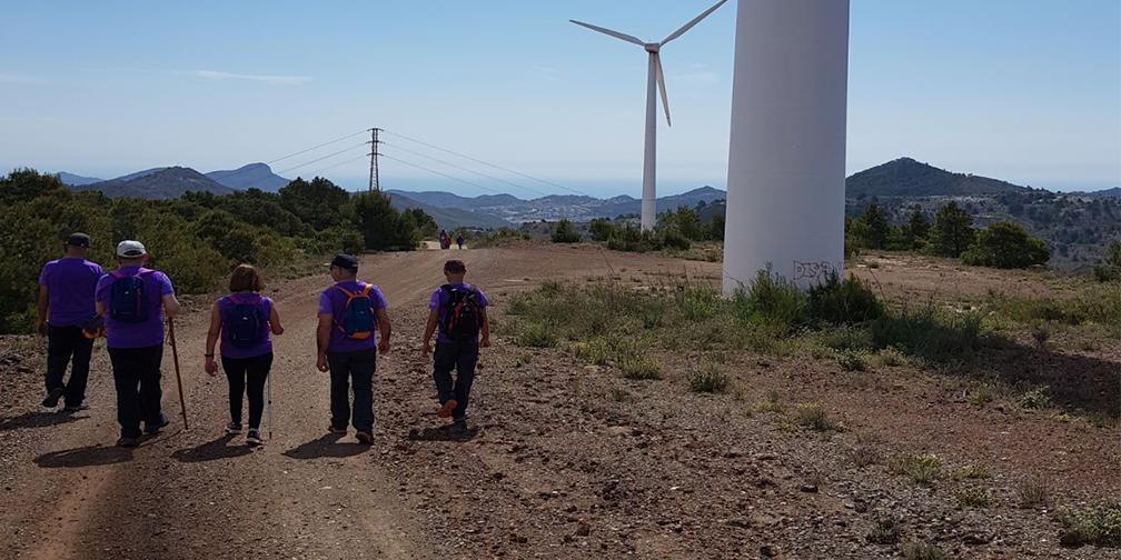 Senderismo por la Ruta del 33 de Murcia