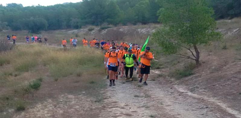 IV Ruta senderista 2017 Andarines de La alberca